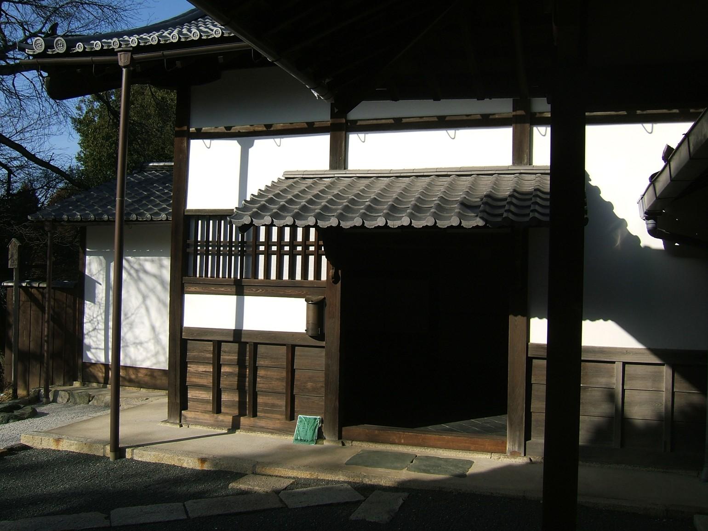 東福僧堂玄関