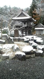冬の永聖寺